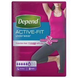 Inkontinenční kalhotky absorpční DEPEND Active-Fit L pro ženy 8ks