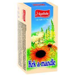 Apotheke Krk a mandle čaj nálevové sáčky 20x1,5 g