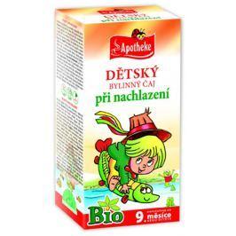Apotheke BIO Dětský čaj nachlazení nálevové sáčky 20x 1,5 g
