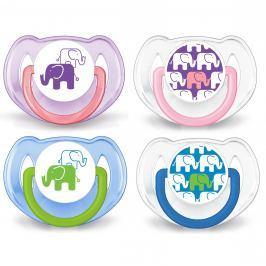 Avent Šidítko obrázek Slon bez BPA 2 ks 6–18 měsíců