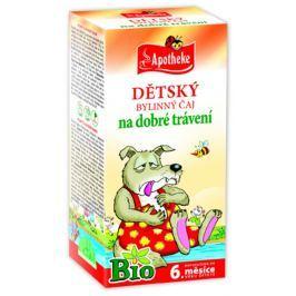 Apotheke BIO Dětský čaj dobré trávení nálevové sáčky 20x 1,5 g