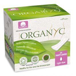 Organyc menstruační vložky z biobavlny slipové slabé 24ks