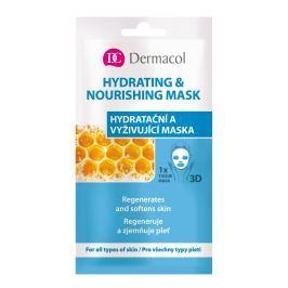 Dermacol Hydratační a vyživující textilní maska 1 ks