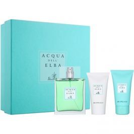 Acqua dell' Elba Arcipelago Men dárková sada III.  toaletní voda 100 ml + sprchový gel 50 ml + tělový krém 50 ml