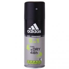Adidas 6 in 1 Cool & Dry deospray pro muže 150 ml