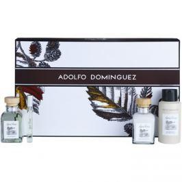 Adolfo Dominguez Agua Fresca dárková sada VII. toaletní voda 120 ml + toaletní voda 10 ml + deodorant ve spreji 150 ml + balzám po holení 120 ml