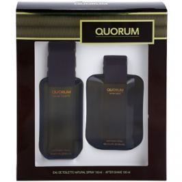 Antonio Puig Quorum dárková sada I. toaletní voda 100 ml + voda po holení 100 ml