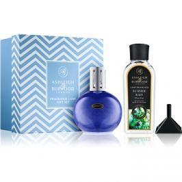 Ashleigh & Burwood London Blue Speckle dárková sada (Summer Rain) lampa + náplň + trychtýř