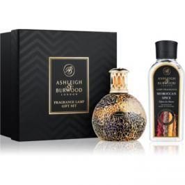 Ashleigh & Burwood London Golden Sunset dárková sada I. (Moroccan Spice) lampa 11 x 8 cm + náplň 250 ml