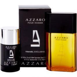 Azzaro Azzaro Pour Homme dárková sada II. toaletní voda 100 ml + tuhý deodorant 75 ml