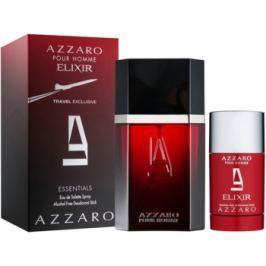 Azzaro Azzaro pour Homme Elixir dárková sada I. toaletní voda 100 ml + deostick 75 ml