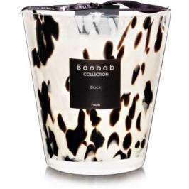 Baobab Black Pearls vonná svíčka 16 cm