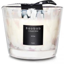 Baobab White Pearls vonná svíčka 10 cm