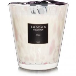 Baobab White Pearls vonná svíčka 16 cm