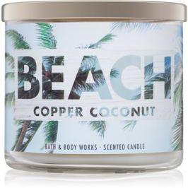 Bath & Body Works Beach Copper Coconut vonná svíčka 411 g