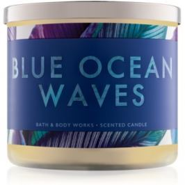 Bath & Body Works Blue Ocean Waves vonná svíčka 411 g