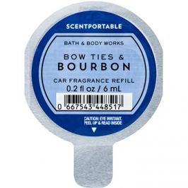 Bath & Body Works Bow Ties & Bourbon vůně do auta 6 ml náhradní náplň