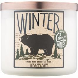 Bath & Body Works Camp Winter Winter vonná svíčka 411 g