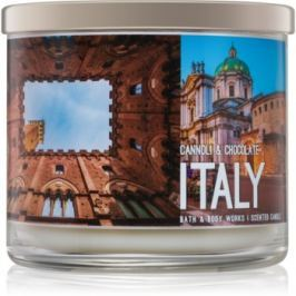 Bath & Body Works Cannoli & Chocolate vonná svíčka 411 g  Italy