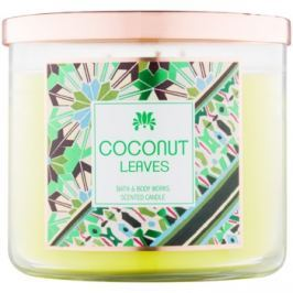 Bath & Body Works Coconut Leaves vonná svíčka 411 g