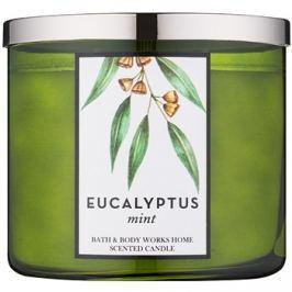 Bath & Body Works Eucalyptus Mint vonná svíčka 411 g