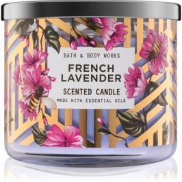 Bath & Body Works French Lavender vonná svíčka 411 g I.