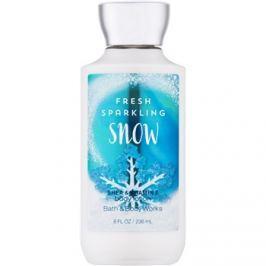 Bath & Body Works Fresh Sparkling Snow tělové mléko pro ženy 236 ml