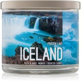 Bath & Body Works Frozen Lake vonná svíčka 411 g  Iceland