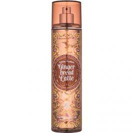 Bath & Body Works Gingerbread Latte tělový sprej pro ženy 236 ml