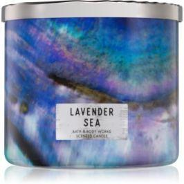 Bath & Body Works Lavender Sea vonná svíčka 411 g