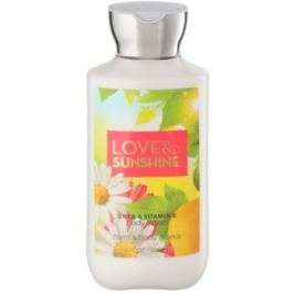 Bath & Body Works Love and Sunshine tělové mléko pro ženy 236 ml