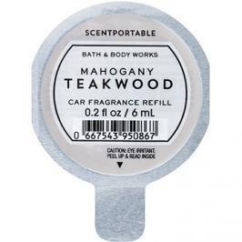 Bath & Body Works Mahogany Teakwood vůně do auta 6 ml náhradní náplň