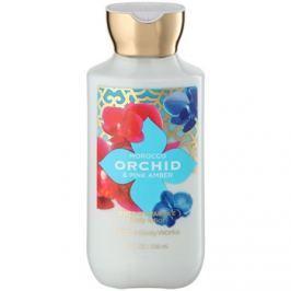 Bath & Body Works Morocco Orchid & Pink Amber tělové mléko pro ženy 236 ml