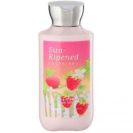 Bath & Body Works Sun Ripened Raspberry tělové mléko pro ženy 236 ml