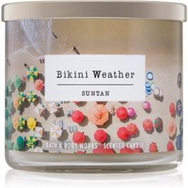 Bath & Body Works Suntan vonná svíčka 411 g  Bikini Weather