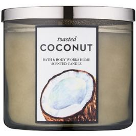 Bath & Body Works Toasted Coconut vonná svíčka 411 g