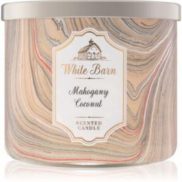 Bath & Body Works White Barn Mahogany Coconut vonná svíčka   I.