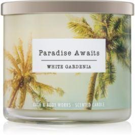 Bath & Body Works White Gardenia vonná svíčka 411 g I. Paradise Awaits