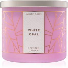 Bath & Body Works White Opal vonná svíčka 411 g