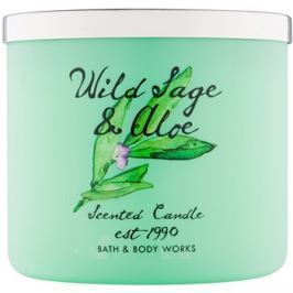 Bath & Body Works Wild Sage & Aloe vonná svíčka 411 g