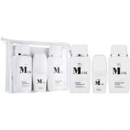 Bettina Barty Classic Musk dárková sada II.  tělové mléko 150 ml + sprchový a koupelový gel 150 ml + deodorant roll-on 50 ml