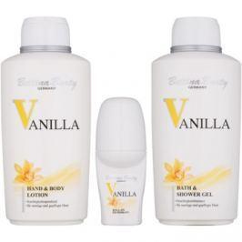 Bettina Barty Classic Vanilla dárková sada II.  sprchový gel 500 ml + tělové mléko 500 ml + deodorant roll-on 50 ml