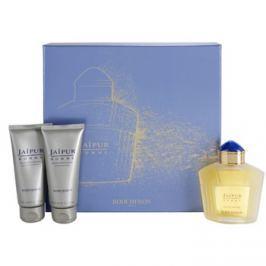 Boucheron Jaipur Homme dárková sada II. parfémovaná voda 100 ml + balzám po holení 100 ml + sprchový gel 100 ml