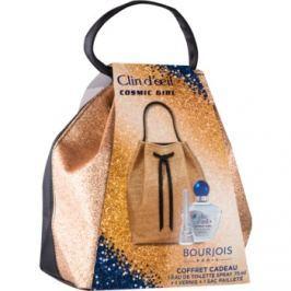 Bourjois Clin d'Oeil Cosmic Girl dárková sada I.  toaletní voda 75 ml + lak na nehty 9 ml + kosmetická taška 1 ks