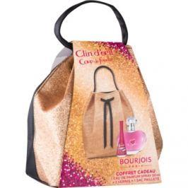 Bourjois Clin d'Oeil Coup de Foudre dárková sada I.  parfémovaná voda 50 ml + lak na nehty 9 ml + kosmetická taška 1 ks