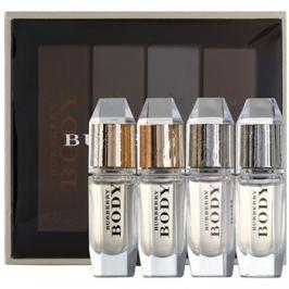 Burberry Body dárková sada XI.  parfémovaná voda 3 x 4,5 ml + toaletní voda 4,5 ml