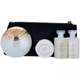 Bvlgari AQVA Divina dárková sada III.  toaletní voda 65 ml + mýdlo 50 g + sprchový gel 40 ml + tělové mléko 40 ml + kosmetická taška