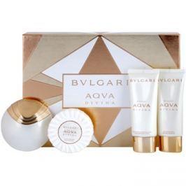 Bvlgari AQVA Divina dárková sada IV. toaletní voda 65 ml + sprchový gel 100 ml + tělové mléko 100 ml + mýdlo 150 g