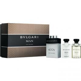 Bvlgari Man Extreme dárková sada VI. toaletní voda 60 ml + balzám po holení 40 ml + sprchový gel 40 ml
