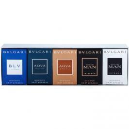 Bvlgari The Miniature Collection dárková sada IV.  parfémovaná voda 5 ml + toaletní voda 4 x 5 ml